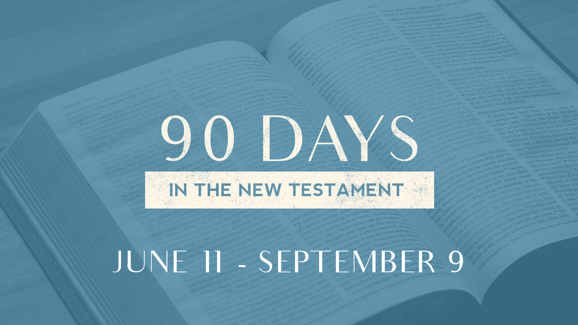 New Testament Class Livestream